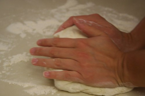 Learning to knead