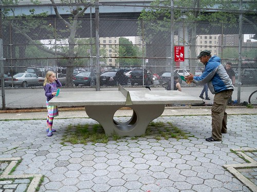 Intergenerational ping pong