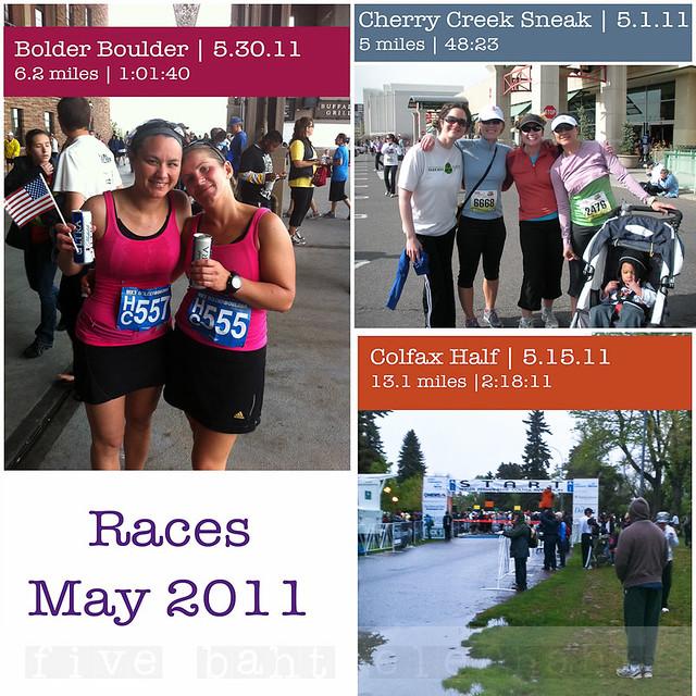 May 2011 Racing