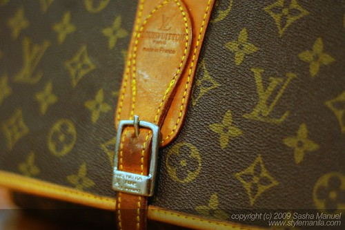 Vintage LV Monogram Shoulder Bag