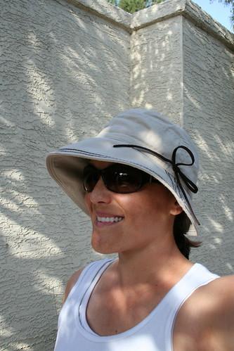 New gardening hat