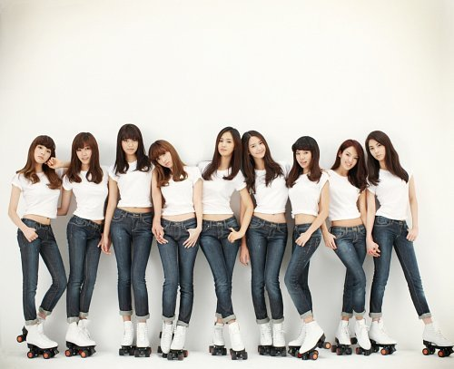SNSD concept Gee Korean Kpop girls group Girl's Generation