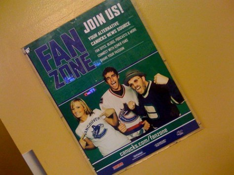 DaveO & Richard are ALL over GM Place by miss604.