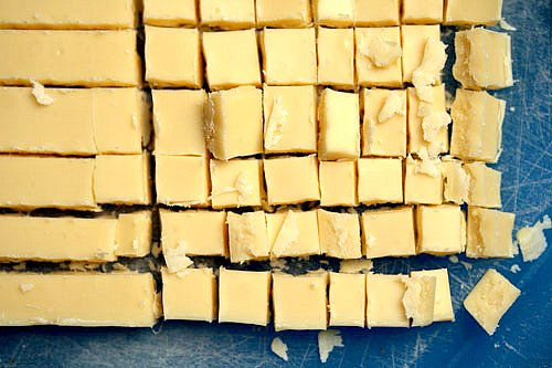 white chocolate for scones