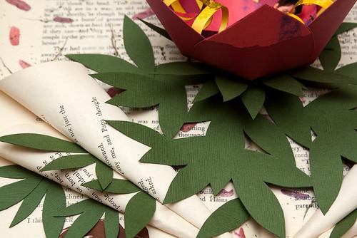 Altered Book Thumbelina-4