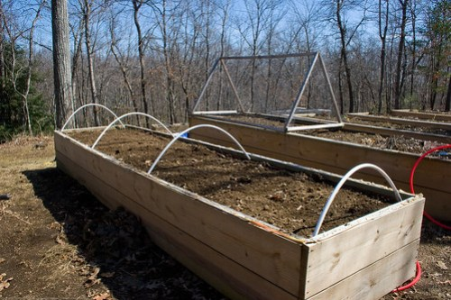 Humble Garden 2009: making a cold frame