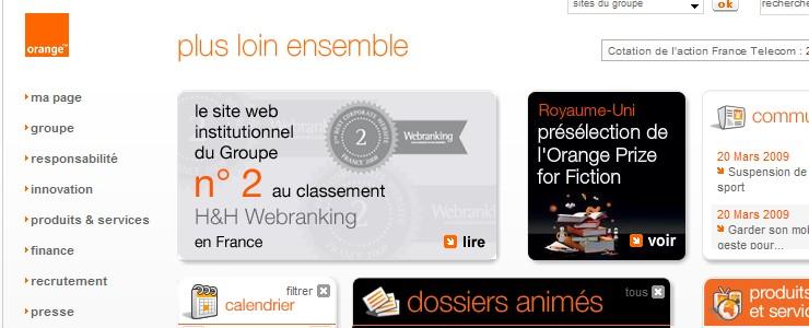 classement H&H Webranking 2008