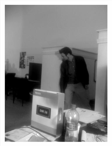 @dunlap sneeking around the corner on @greyscalemovie
