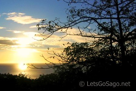 Camiguin Bay View from Station of the Cross Peak