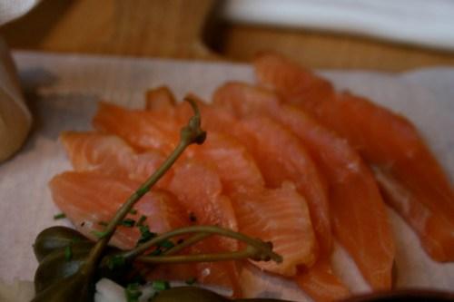 Selfridge's Wonder Bar - Frank Hederman's Salmon