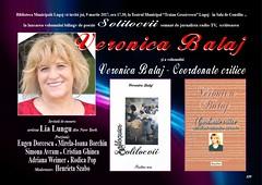 Veronica Balaj - lansare carte