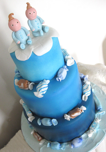 Very Cute Baby Twins Wallpaper Baby Themed Cakes Oakleaf Cakes Bake Shop