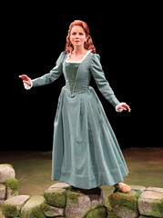 Jennifer Hope Wills (Fiona MacLaren) in Brigadoon, produced by Music Circus at the Wells Fargo Pavilion August 5-10, 2014. Photos by Charr Crail.