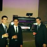 FOTO Trei studenți brașoveni dau examenul de diplomă cu o mașină de curse construită de ei!