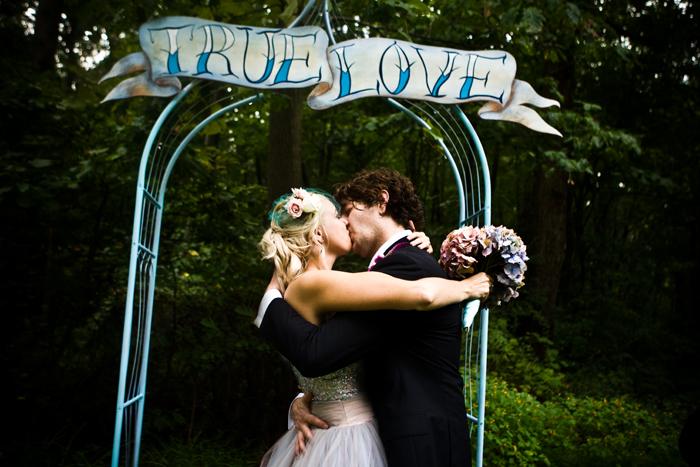 bird and squirrel wedding 9.13.08