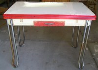 Antique Enamel Kitchen Tables | HomeDesignPictures