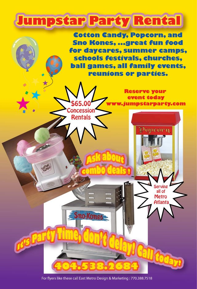 Party rental flyer Laquacer Smith-Tinch Flickr