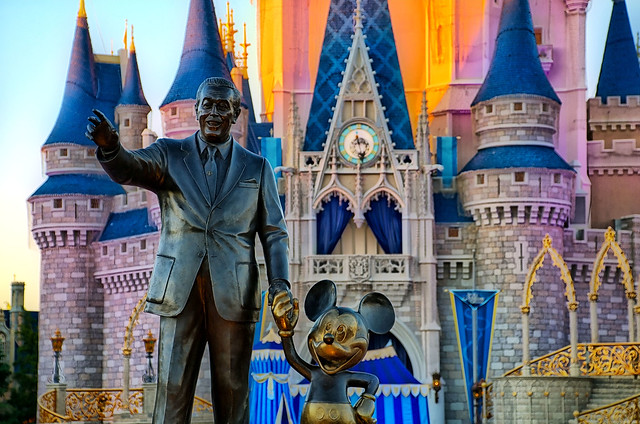 Disney - Partners at Dusk (Explored)