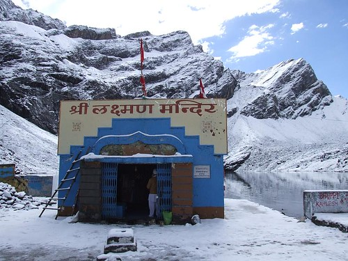 Lokpal Temple or Laxman Temple at Hemkund