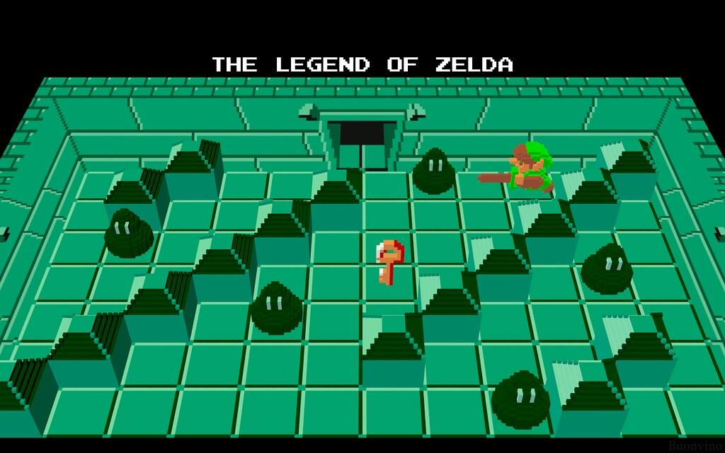 Majoras Mask 3d Wallpaper Hd Legend Of Zelda Dungeon 3 A Photo On Flickriver