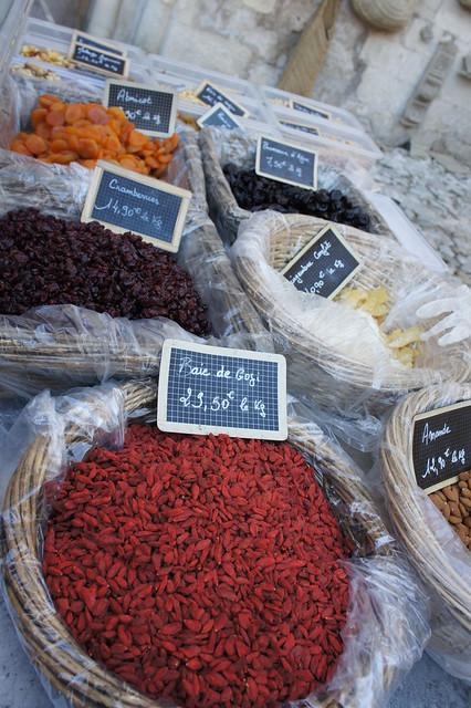 Forcalquier Market - Local Produce