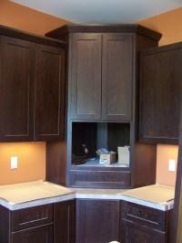 Corner Microwave Cabinet | Explore thezimmermanproject's ...