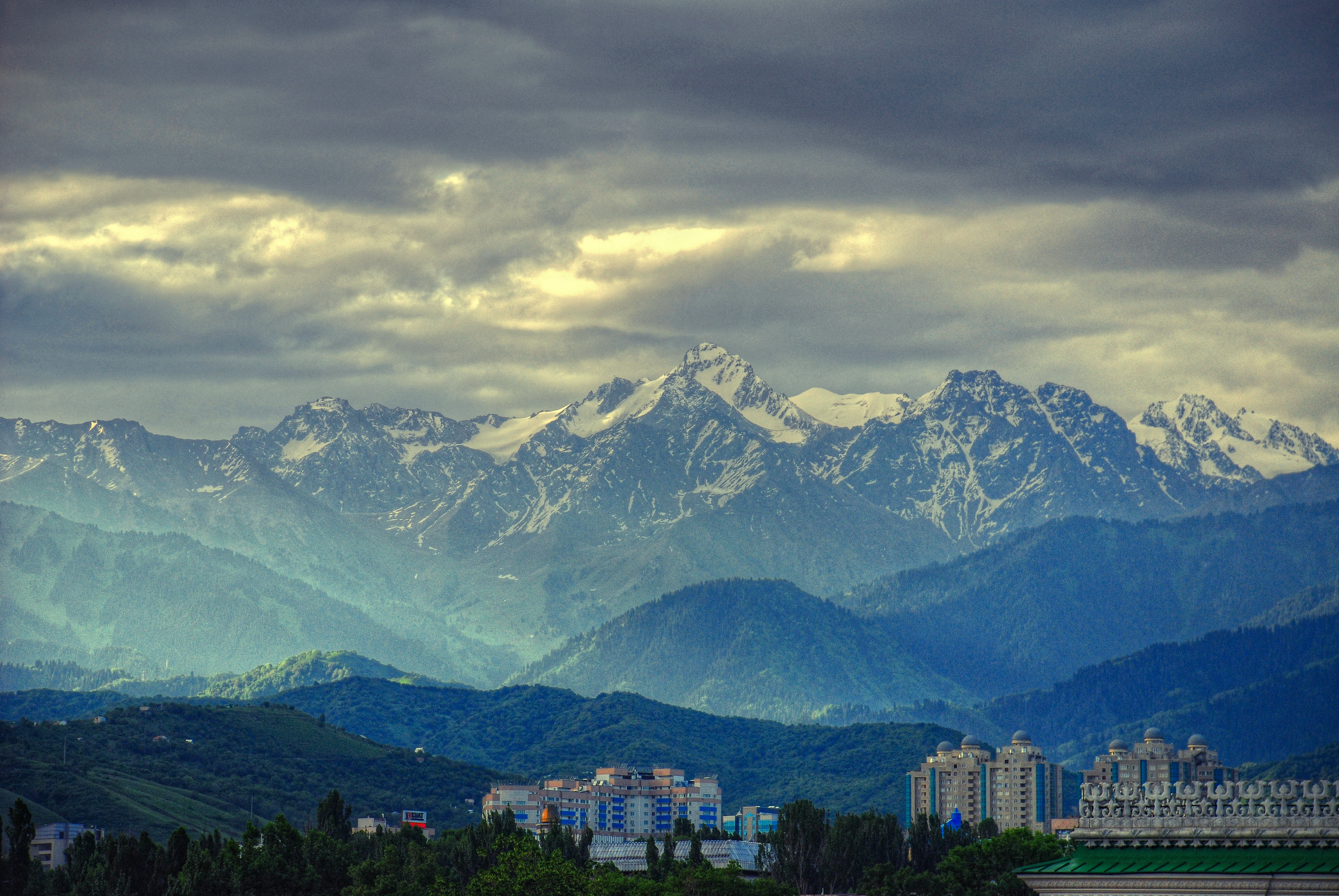 Best Wallpapers Hd Pro Early Morning In Almaty Flickr Photo Sharing