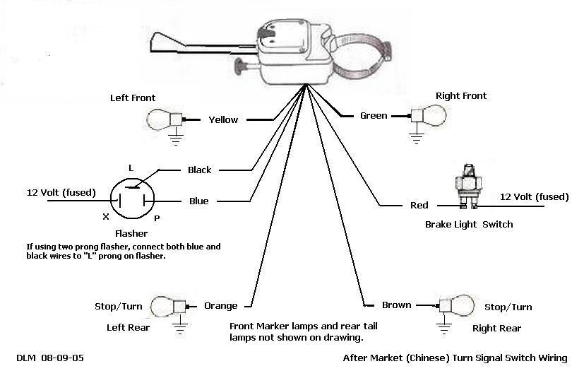 3 Wire Turn Signal Wiring Diagram Online Wiring Diagram