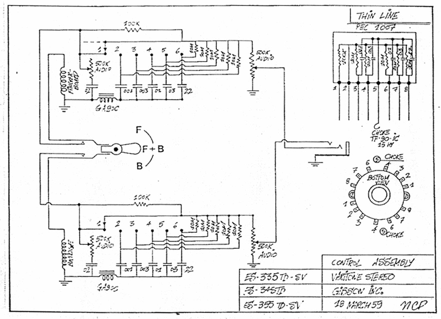 gibson melody maker wiring diagram