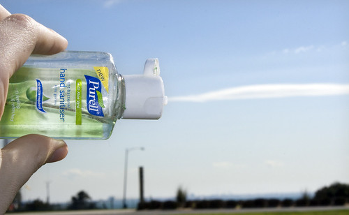 Hand Sanitiser Cloud