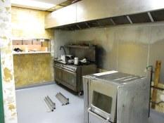 The kitchen at Deacon's Corner