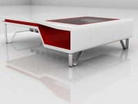 white and red coffee table 16 | Flickr - Photo Sharing!