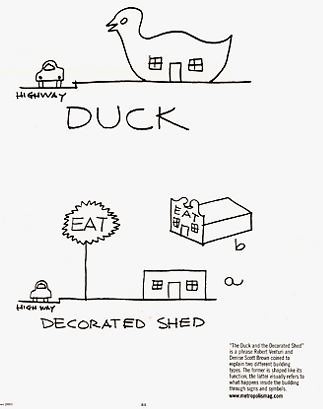 Learning from Las Vegas, Venturiu0027s duck and the decorated shed - salon resume