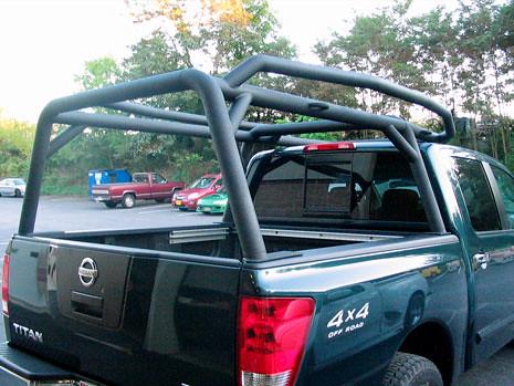 Nissan Titan Canoe Rack