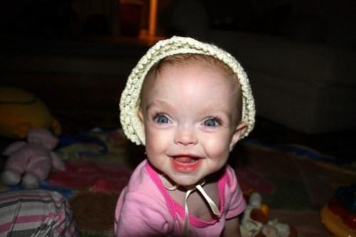 pretty hat, pretty face