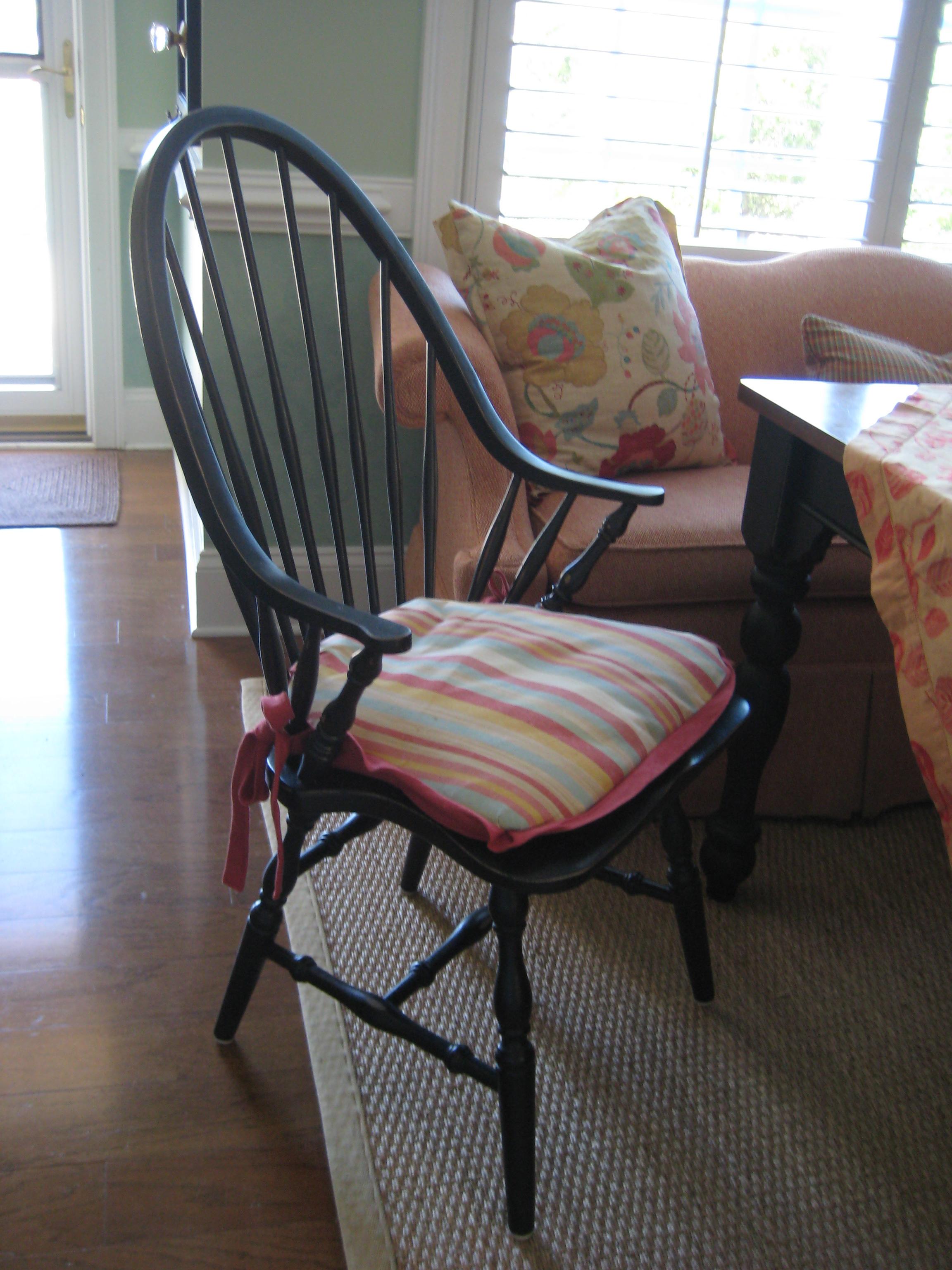 Windsor Chair Cushion Robert Allen Flickr Photo Sharing