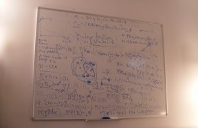 Capture whiteboards with Evernote at college