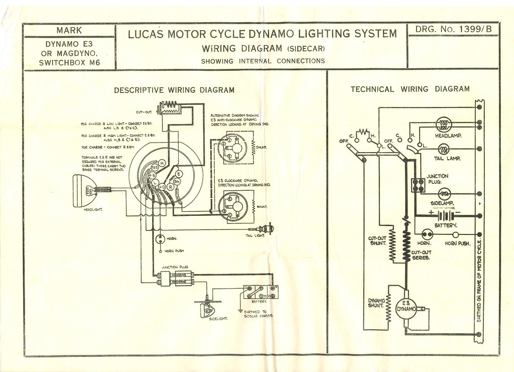 Lucas Wiring Diagram 1918/24 Lucas C40  S40 Wiring diagra\u2026 Flickr