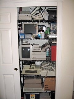 Retrocomputing Closet of Doom