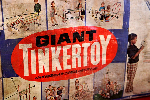 Small Bedroom Set Giant Tinkertoys From The 1970s | Flickr - Photo Sharing!
