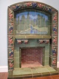 Rookwood Fireplace | Rookwood Fireplace; Cincinnati Art ...