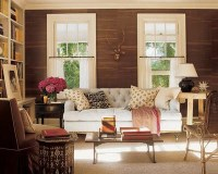 Neutral Warm Living Room - decorate living room