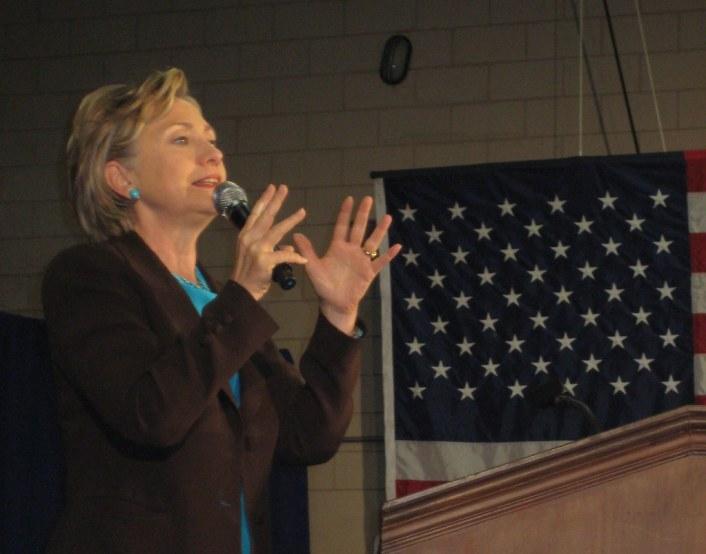 Sen. Hillary Clinton Campaigning for Barack Obama, Winter Park, Fla. Nov. 1, 2008