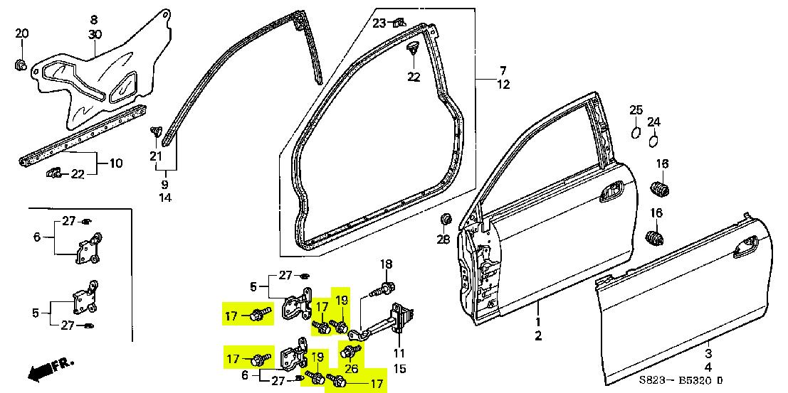 91 honda civic si wire harness diagram
