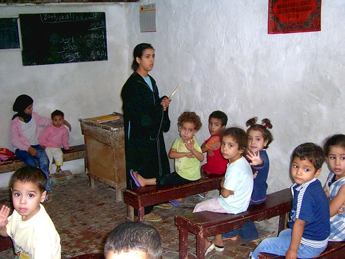escuela en Fez