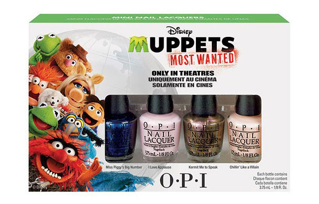 Opi Muppets Most Wanted Nail Polish Collection News