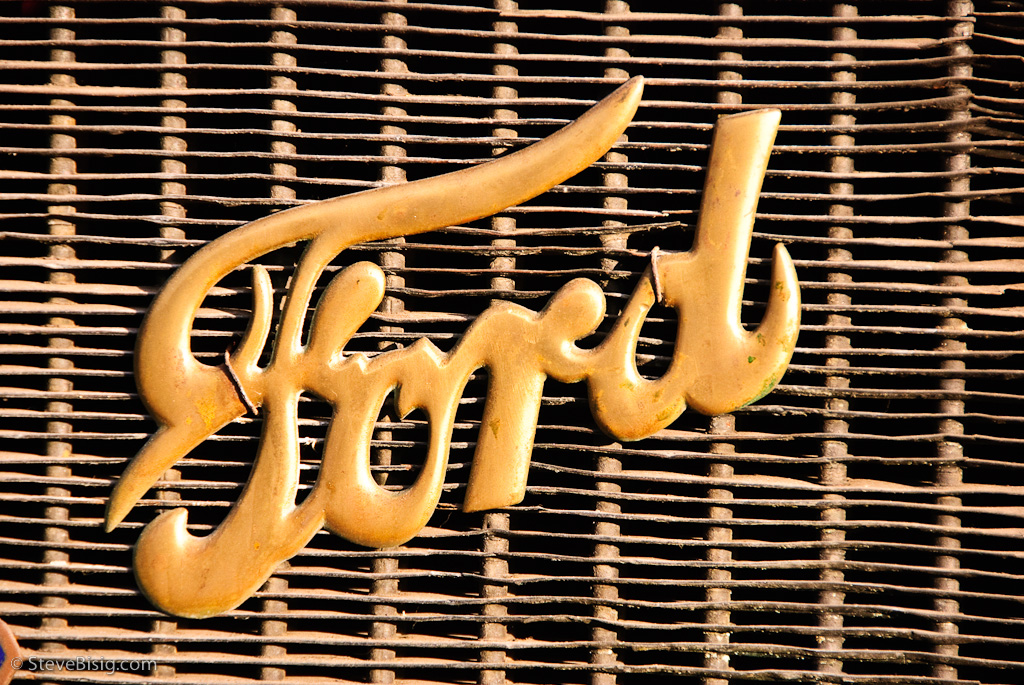 Old Ford Radiator Emblem