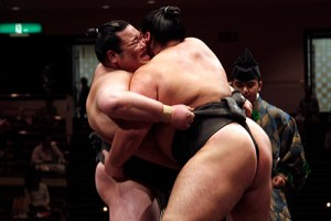 Belly to belly marketing - Sumo style