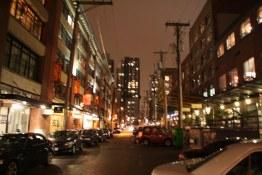 Yaletown at Night
