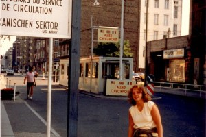 Checkpoint Charlie, Berlin, 1983